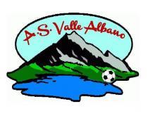 Personalizzazione divise: A.S. Valle Albano